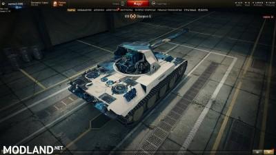 Scorpion Tier 8 Premium Tank Blue Fire Skin 1.4 [1.4.0.1]
